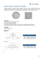 Diffusori circolari a singolo cono KDA-DCL