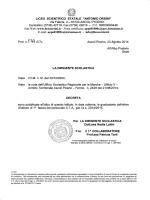 PUBBLICAZIONE GRADUATORIE DEFINITIVE ATA I FASCIA A.S.
