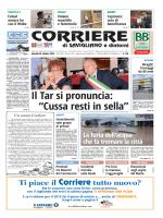 """Il Tar si pronuncia: """"Cussa resti in sella"""""""
