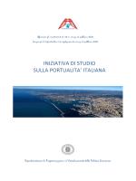 Iniziativa di studio sulla portualità italiana