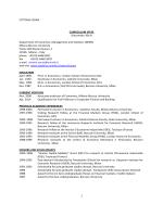 VITTORIA CERASI CURRICULUM VITAE (December 2014