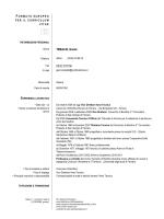 cv tebaldi - Ingegneria - Università degli Studi di Ferrara