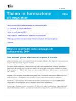 e-dfp-newsletter 10.14 - Repubblica e Cantone Ticino