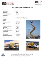 PIATTAFORMA AEREA CTE Z20