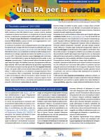 """Il """"Pacchetto coesione"""" 2014-2020 I nuovi Regolamenti dei Fondi"""