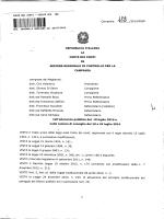 CORTE DEI CONTI - Comune di San Marcellino