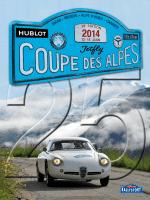 Rallye de la Coupe des Alpes 2014