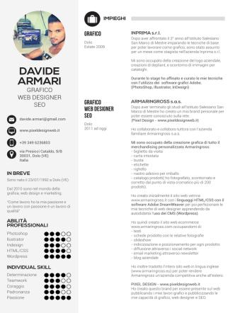Davide Armari - Curriculum Vitae