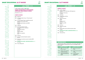 Corso VAM 2014 - Smart on web