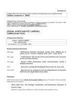 EDGAR JAVIER SANCHEZ CARRERA - Università degli Studi di