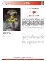 Il Dio Cacciatore - Ilcacciatore.com