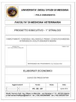 elenco prezzi - Università degli Studi di Messina