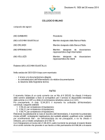 Decisione N. 1805 del 26 marzo 2014