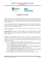 PROGETTO CASE MANAGEMENT AUTISMO DGR 392/13