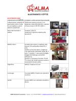 scheda tecnica in PDF - ALMA Allestimenti Automotive