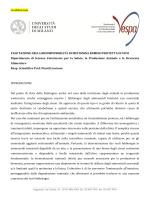 Valutazione della biodisponibilità di Metionina rumino
