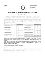 delibera aliquote tasi - Amministrazioni Comunali