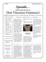 Speciale… Don Vincenzo Giannuzzi