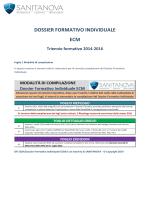 DOSSIER FORMATIVO INDIVIDUALE ECM Triennio