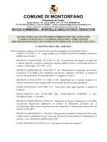 bando_ncc_montorfano - Comune di Montorfano