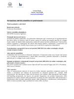 al file del Curriculum - Università degli Studi di Foggia