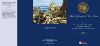 CONVEGNO SGSM depliant - Scuola Grande San Marco