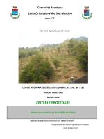 Scarica il bando - Comunità montana valle San Martino