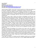 CV WEB artistique Sylvie Poinsot 2014 FRANCAIS