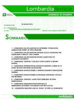 Lombardia - Conferenza delle Regioni e delle Province autonome