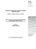 Volume 1 - Urbanistica informazioni