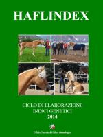 Haflindex 2015 (PDF - FREE DOWNLOAD)