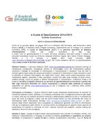 A Scuola di OpenCoesione 2014/2015 Scheda illustrativa