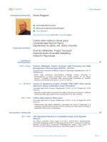 Nicola Reggiani Cultore della materia in Storia greca Università