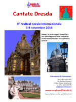 Cantate Dresda 2014 - music and friends