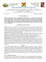 Bando CLIL - Scuola Media Caloprese