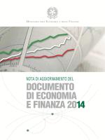 Nota di Aggiornamento del DEF 2014