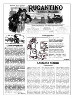 to download the PDF - Rugantino - Settimanale satirico