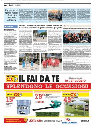 Clan Caltanissetta 7 alla Route Nazionale – La Sicilia Caltanissetta