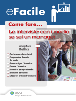 Come fare... Le interviste con i media se sei un manager
