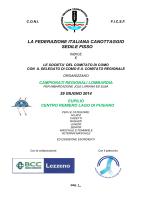 Eupilio - 29 giugno (Camp. Regionali Lombardi)
