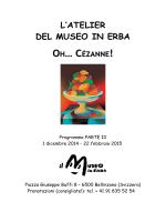 Cézanne programma atelier II parte