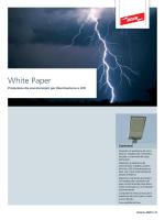 Protezione da sovratensioni per illuminazioni a LED