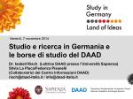 Studieren und promovieren in Deutschland (englische
