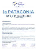 Dal 16 al 29 novembre 2014