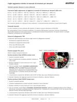 Foglio aggiuntivo relativo al manuale di istruzioni per attuatori