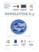 Newsletter n. 3 - 22 ottobre 2014 (pdf)