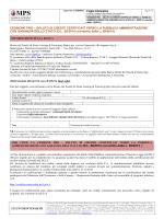 Foglio Informativo CESSIONE PRO - Banca Monte dei Paschi di Siena