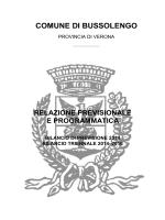 MISSIONE 1 - Comune di Bussolengo