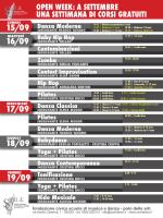 open week - Civica Scuola di Musica