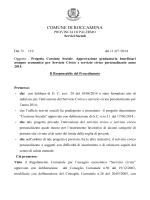 DET. N. 119-2014 AREA AMMINISTRATIVA